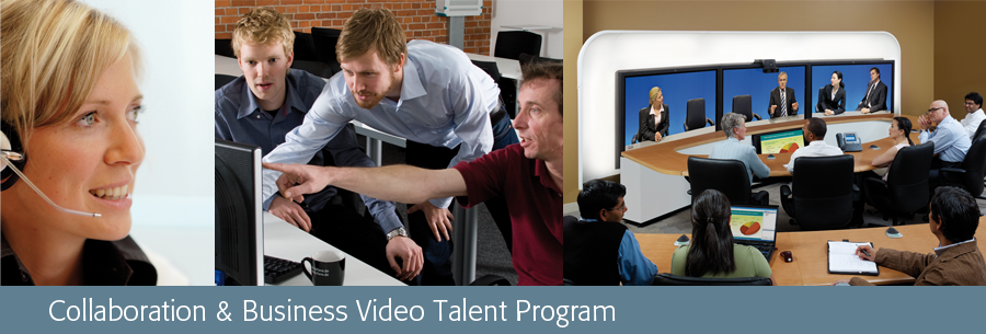 Collaboration & Business Video Talent Program