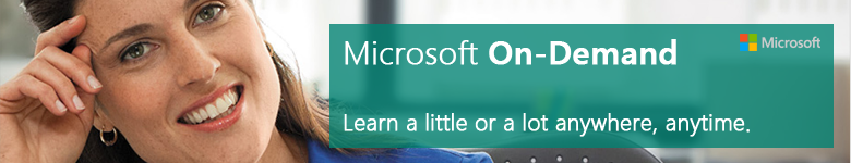 Microsoft Training on-demand